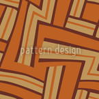 Maze Brown Design Pattern