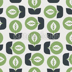 Young Leaf Seamless Pattern
