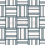 Square And Lines Vector Pattern