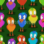 Little Birds Of Paradise Design Pattern