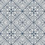 Azulejos de campo floral Estampado Vectorial Sin Costura
