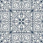 Piastrelle floreali disegni vettoriali senza cuciture