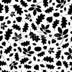 Blätter Bewegen Rapportiertes Design
