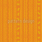Tribal Ways Seamless Vector Pattern Design