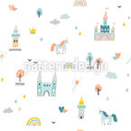 World Of Unicorns Pattern Design