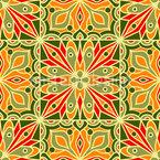 Arabesken-Sommer Vektor Muster