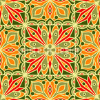Arabesques Summer Vector Pattern