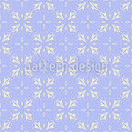 Frosty Vintage Tiles Repeating Pattern