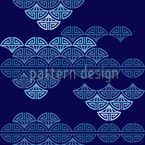Sea Of Clouds Vector Pattern