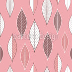 Elegant Leaves Seamless Vector Pattern Design