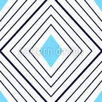 Geometrische Diamanten Nahtloses Vektormuster