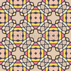 Kaleidoscopic Tiles Repeating Pattern