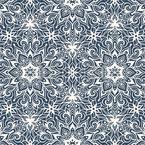 Kaleidoskopisches Mandala Nahtloses Vektormuster