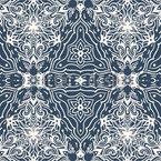 Arabesco Caleidoscópico Design de padrão vetorial sem costura
