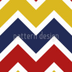 Farbiges Chevron Musterdesign