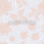 Tender Leaves Seamless Vector Pattern Design