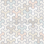 Fidget Tessellation Vector Pattern