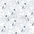Hiding Birds Pattern Design
