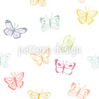 Butterfly Drawings Vector Design
