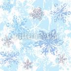 Sibiria Blau Nahtloses Vektormuster
