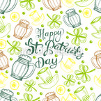 St Paddies Party Vector Pattern