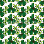 Hand Drawn Clover Repeat