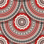 Placas de Onda Design de padrão vetorial sem costura