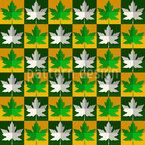Maple Leaf Seamless Vector Pattern