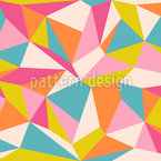 Polygone Nahtloses Vektormuster