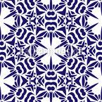 Sechseckiges Mosaik Nahtloses Vektormuster