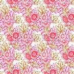 Nostalgic Bouquet Pattern Design