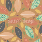 Herbstboden Muster Design