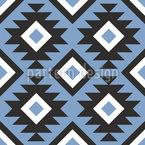 ラテンアマリカ幾何学 シームレスなベクトルパターン設計