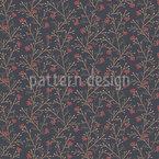 Dark Rowan Repeating Pattern