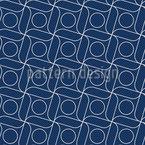 Japanische Stickerei Nahtloses Vektormuster