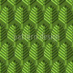 Forest Dimension Seamless Vector Pattern