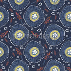 Abstract Meadow Repeating Pattern