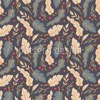 Neutral Flora Seamless Vector Pattern Design