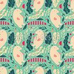 Eisbärensalat Nahtloses Muster