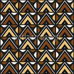 South African Zulu Seamless Vector Pattern Design