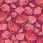 Poppy Seamless Vector Pattern Design