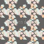 Arranjos Florais Design de padrão vetorial sem costura