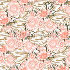 Floral Sea Repeating Pattern