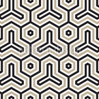 Hexagon Uni Seamless Vector Pattern Design