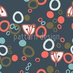 Habitat dos cactos vívidos Design de padrão vetorial sem costura