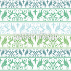 Encora Green Seamless Vector Pattern Design