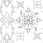 Gothic Symmetry Repeat Pattern