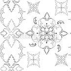 Gotische Symmetrie Rapportmuster