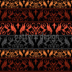 Encora Dark Seamless Vector Pattern Design