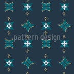 Gothic Style Seamless Vector Pattern Design